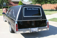Highlight for Album: The Hearse Limo